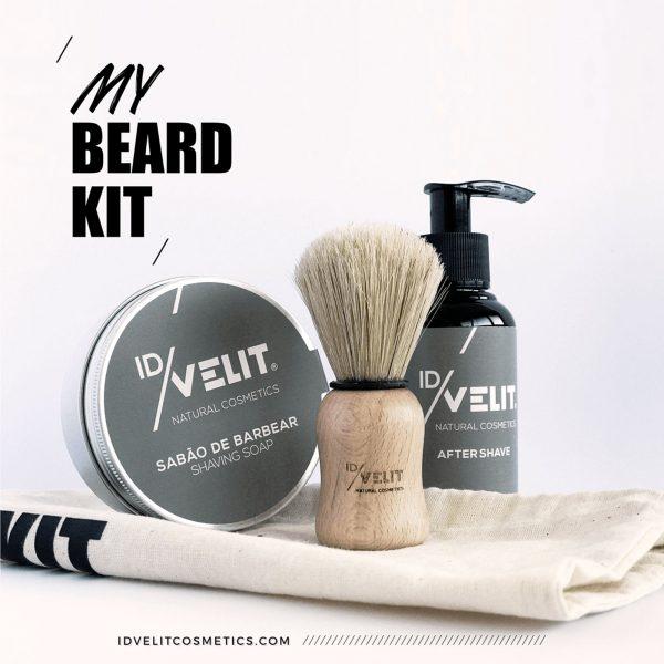 Kit de Barbear para Homem
